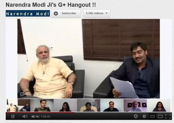 Modi-Hangout