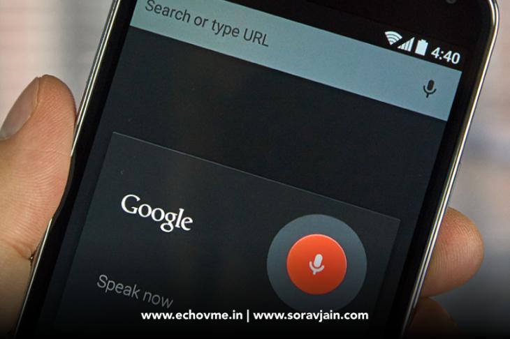 20% of Mobile Queries are Voice Searches – says Sundar Pichai, Google CEO