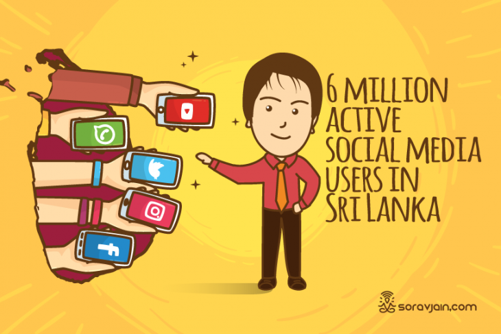 40 Amazing Digital and Social Media Marketing Stats and Facts of Sri Lanka – 2018