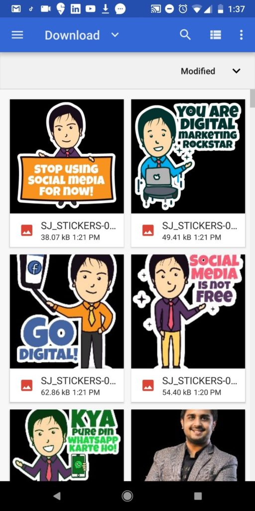 Create Customized Whatsapp Stickers Online
