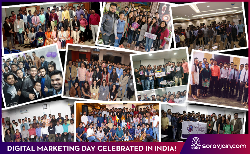 Digital Marketing Day Celebrated in India on 16th December – Glimpses!