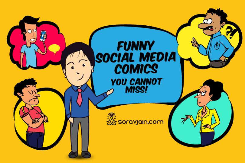 Hilarious Social Media & Digital Marketing Cartoons