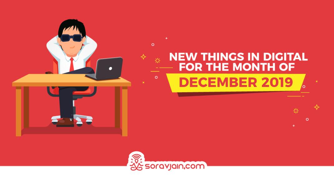 New Things in digital December