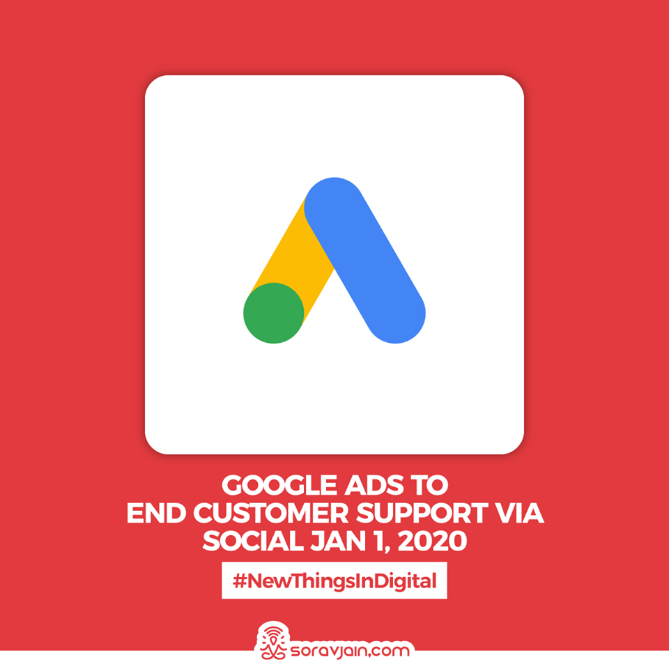 Google-Ads-to-End-Customer-Support-Via-Social-Jan-1-2020