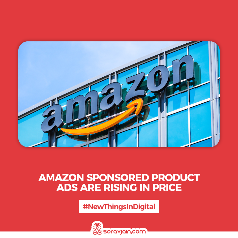 Amazon Sponsored Product Ads Are Rising in Price