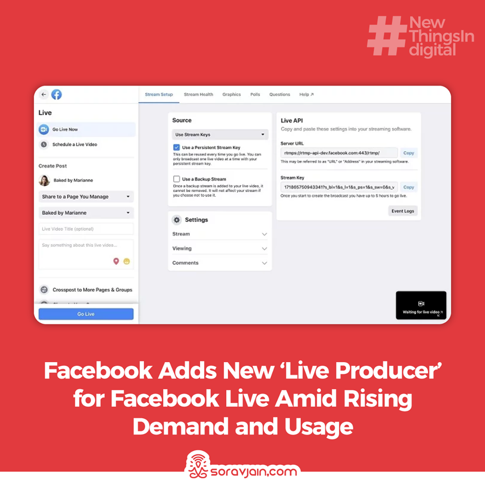 Facebook Adds New 'Live Producer' for Facebook Live Amid Rising Demand and Usage