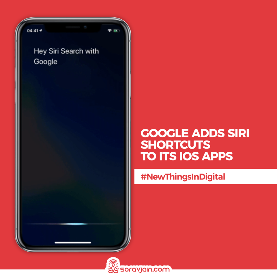 Google-adds-Siri-Shortcuts-to-its-iOS-apps