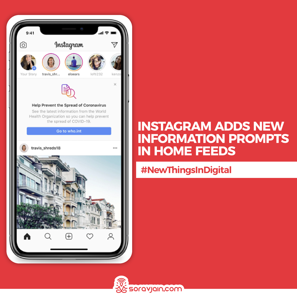 Instagram Adds New Information Prompts in Home Feeds
