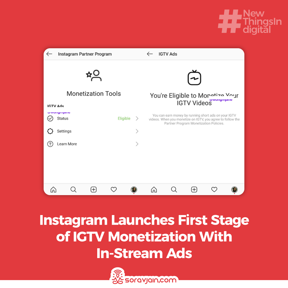 Instagram Launches First Stage of IGTV Monetization With In-Stream Ads