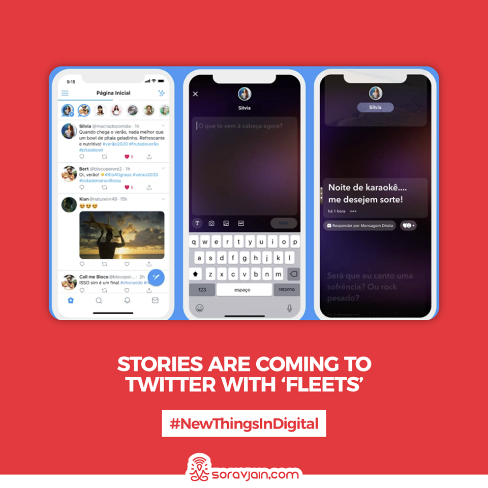 Stories Are Coming to Twitter with 'Fleets'