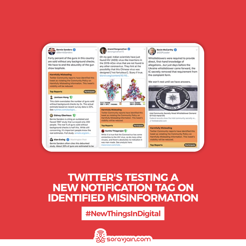 Twitters-Testing-a-New-Notification-Tag-on-Identified-Misinformation
