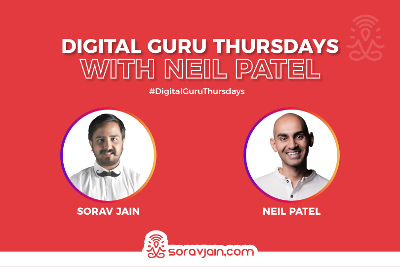 Digital Guru Thursdays with Neil Patel