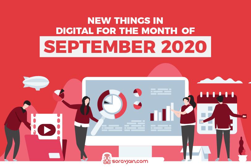 28 New Things in Digital in September 2020