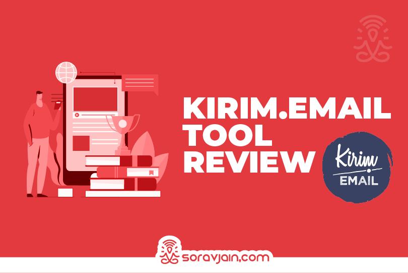 kirim email marketing tool review