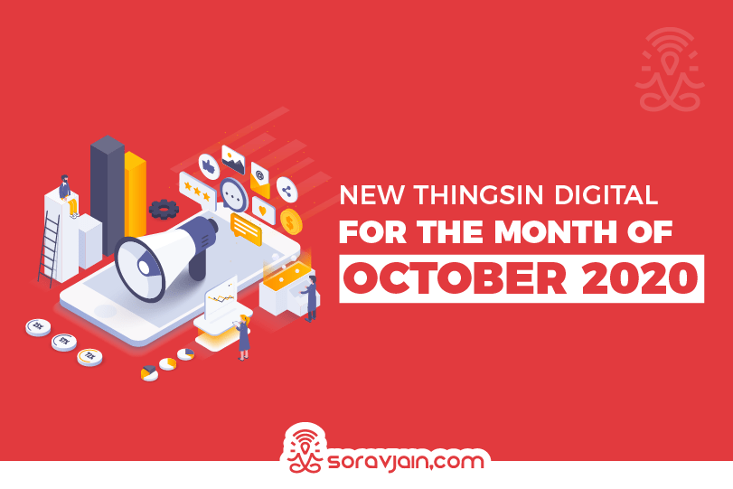 New Things in Digital in October - 2020