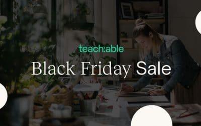 Teachable Black Friday Offer