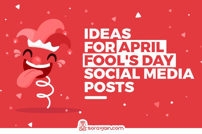 social media post ideas for april fool's day