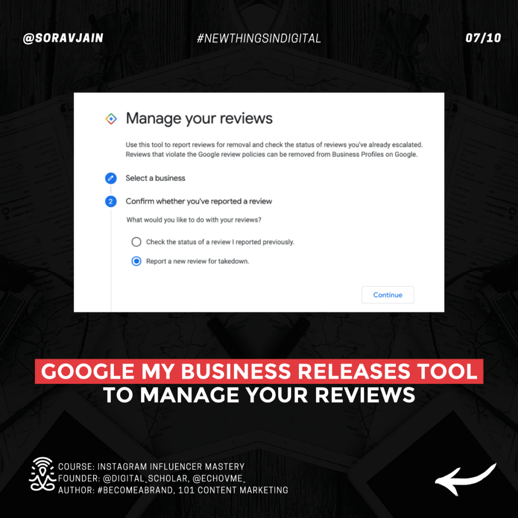 Google My Business releases tool to manage your reviews