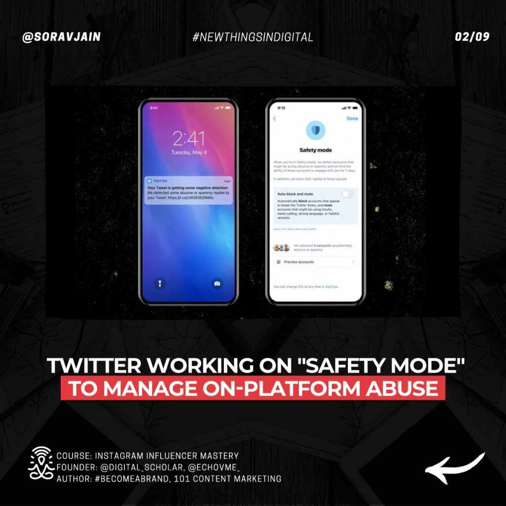 Twitter working on Safety Mode to manage on-platform abuse