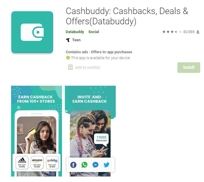 Cashbuddy - Money Earning App in India