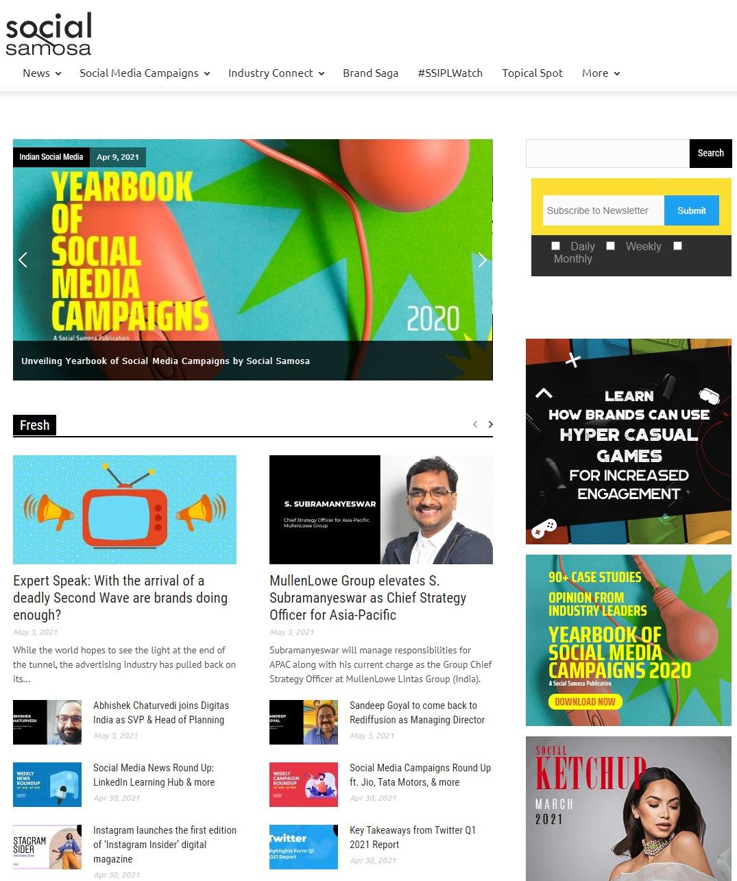 Social-Samosa - Indian Digital Marketing Blog