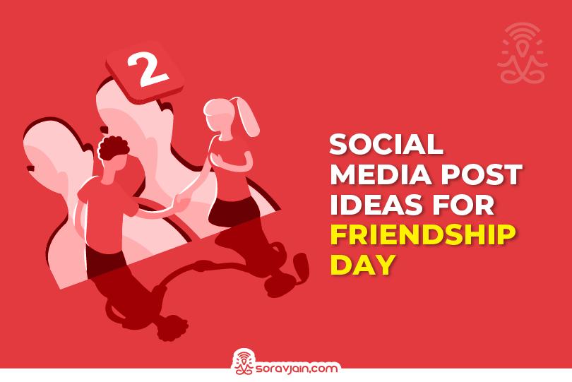 friendship day social media post ideas