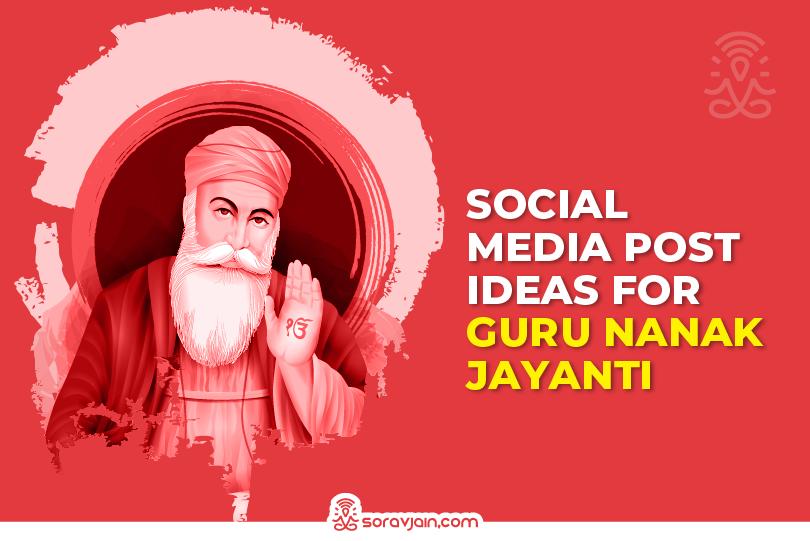 Guru Nanak Jayanti Social Media Campaign Post Ideas