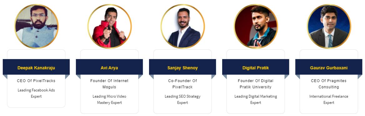 online digital marketing course guest lecturers