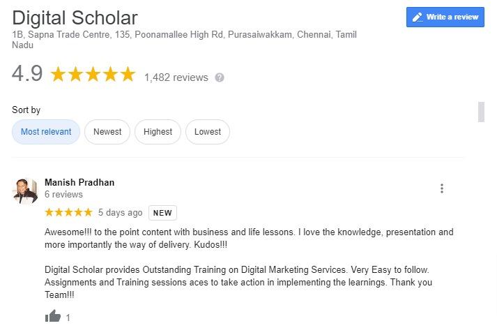 online digital marketing course
