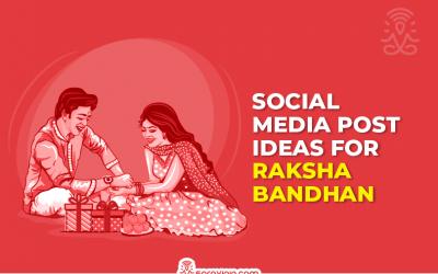 Best Engaging Raksha Bandhan Social Media Post Ideas