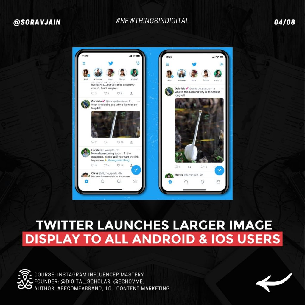 Twitter launches Larger Image Display to all Android and iOS users