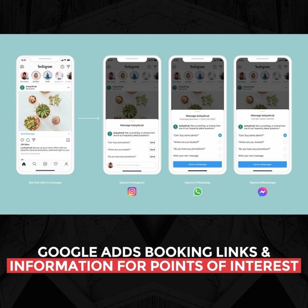 Google adds booking links and information for points of interest