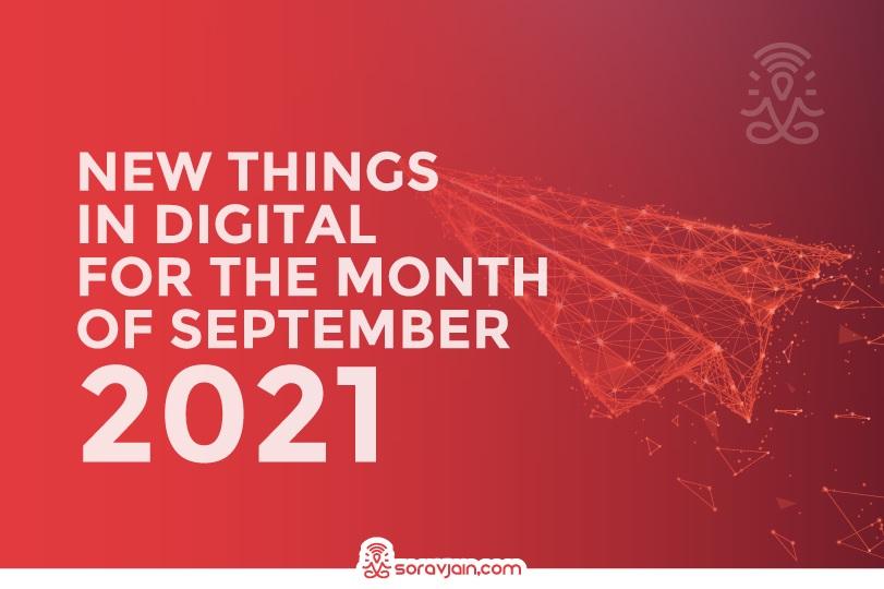 Latest Digital Marketing Update in September 2021