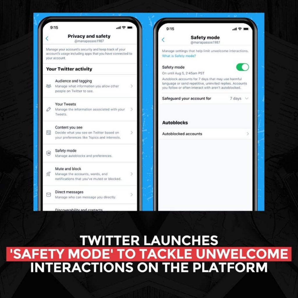 Twitter launches 'Safety Mode' to tackle unwelcome interactions on the platform